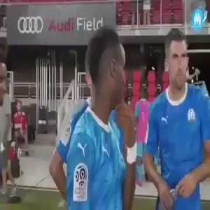 Dimitri Payet has kissed Bouna Sarr on the lips for the 2nd in the pre-season