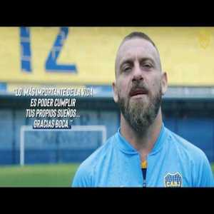 #BenvenutoDaniele | Boca Juniors presentation video of Daniele De Rossi