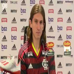 Moan is heard in Filipe Luís's press conference