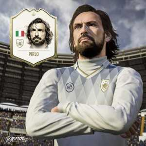 Andrea Pirlo will be an icon in Fifa 20