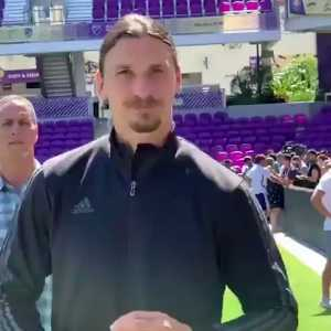 """Zlatan Ibrahimovic to Bastian Schweinsteiger: """"Deutsche Maschine. My friend, you look sharp for a 50 year old!"""""""