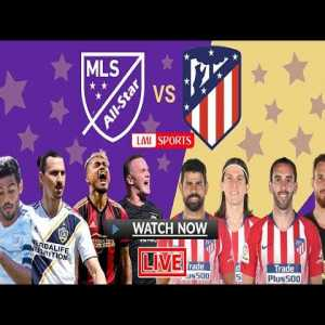 MLS All Stars vs Atletico Madrid 0-3 Highlights - Carlos Vela and Zlatan playing together XD