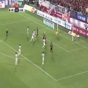 Andres Iniesta (Vissel Kobe) goal vs Gamba Osaka