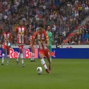Ramos with a horrible tackle in a pre-season friendly: