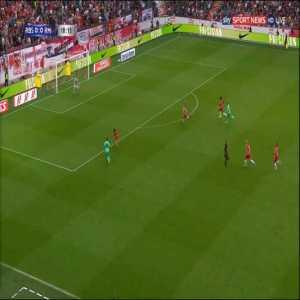 RB Salzburg 0-1 Real Madrid - Eden Hazard 19'