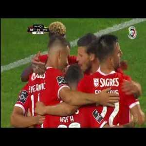 Benfica [3]-0 Paços de Ferreira - Seferovic 70'