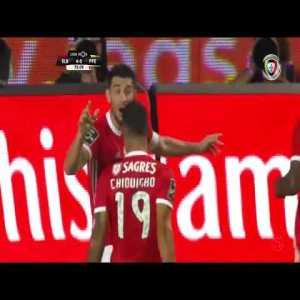 Benfica [4]-0 Paços de Ferreira - Pizzi 74'