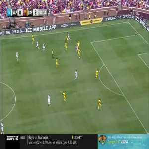 Napoli 0-[3] Barcelona: Suarez 58'