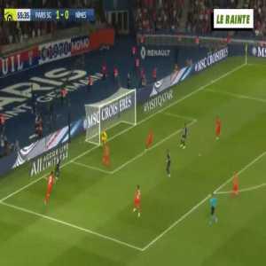 PSG - Nimes 2-0 Mbappe 56'