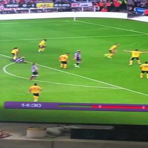 Saint-Maximin highlights vs Arsenal.