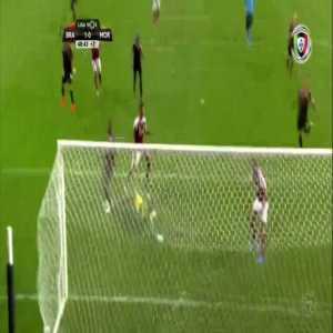SC Braga [1]-0 Moreirense : Fransérgio 45'+3'