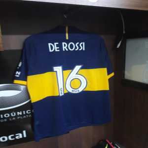 Daniele de Rossi to make his Boca Juniors debut tonight in Copa Argentina game vs. Almagro