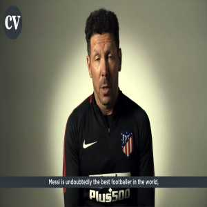 "Diego Simeone: ""Messi is undoubtedly the best footballer ..."