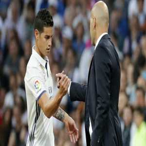 James Rodriguez has been removed from the transfer list with Zinedine Zidane 'counting on him'