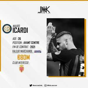 Monaco have started discussions with Mauro Icardi