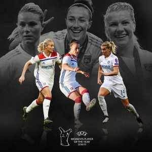 UEFA Women's Player of the Year nominees