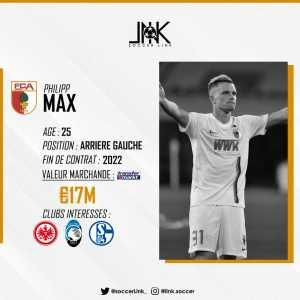 Atalanta, Frankfurt and Schalke are interested in Philipp Max, Schalke left back Hamza Mendyl in contact with Dijon.