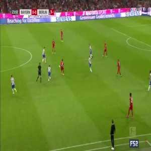Bayern Munich 1-0 Hertha Berlin - Lewandowski 24'