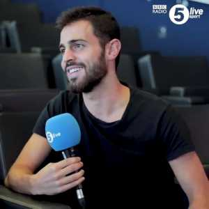 """Bernardo Silva arrived in Manchester in pink swimming shorts: """"It was July, it was so cold and raining. I thought, 'Is it like this the whole year?' And it is!"""""""