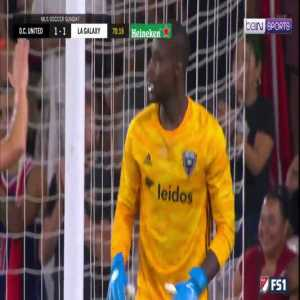 Incredible save during D.C. United and LA Galaxy