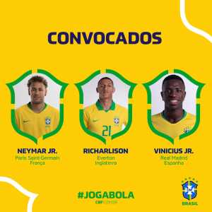 Vinícius Junior has been included in Brazil's squad