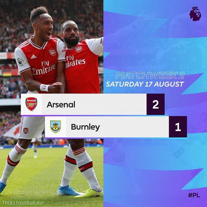 Alexandre Lacazette Officiel and Aubameyang Pierre-Emerick give Arsenal victory