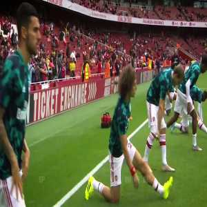 Dani Ceballos game vs Burnley in a video compilation