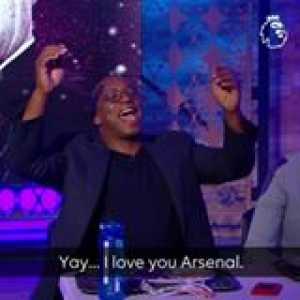 """LACA! LACA! LACA!""  Ian Wright enjoyed that Arsenal win"