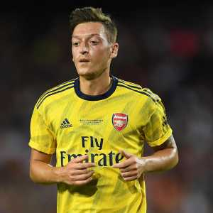 Mesut Ozil misses out for Arsenal as he was ill earlier in the week