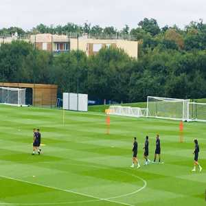 Neymar has returned to collective training with PSG