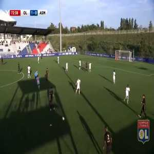 On his 16th birthday Rayan Cherki becomes the youngest player to score for Lyon's reserve beating the likes of Geubbels, Martial and Benzema