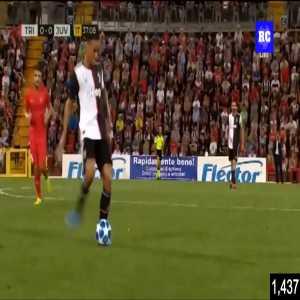 Triestina 0-[1] Juventus - Paulo Dybala (Great goal)