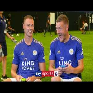 """Vardy on Maguire: """"..when they did that documentary, Pep said he was too slow, now he wants to sign him for 80mil"""""""