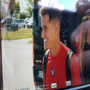 Coutinho Has Arrived In Munich for his Medical