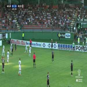 Mura [1]-0 Rudar Velenje : Luka Bobičanec (great goal in the Slovenian Prva liga)