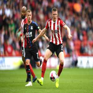 Sheffield United midfielder John Lundstram has now scored in all of England's top-four divisions.