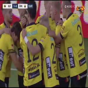 Elfsborg [1]-0 Östersund - Jesper Karlsson 13' (Great goal)