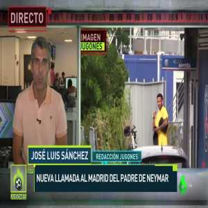 [JLS] Neymar's father has called RM to find out what they are going to do