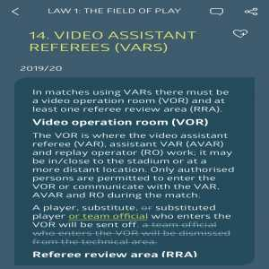 """Conor Pope: """"The best new law this season is the one that states a player entering the VAR room is a straight red. The Premier League's VAR room is in Stockley Park, 13 miles from the nearest PL ground. Any player making it there during a game to moan about a decision deserves a medal."""""""