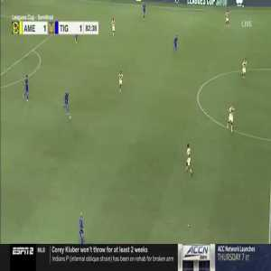 America [2] - Tigres 1 - Andres Ibarguen 2nd goal