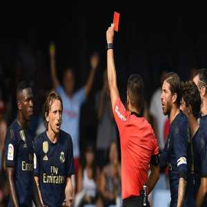 Modric and Molina get one game bans for their red cards