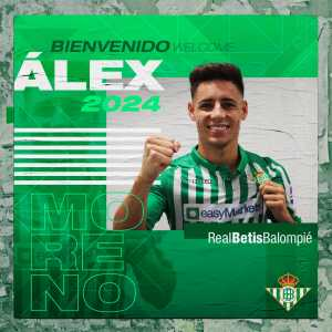 OFFICIAL: Real Betis sign Alex Moreno from Rayo