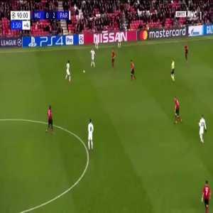 PSG Ultras having fun away at Manchester United