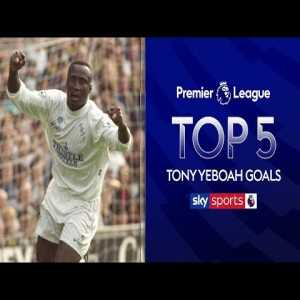 Tony Yeboah's 5 best PL Goals