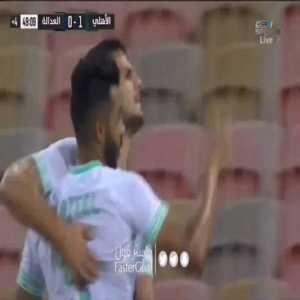 Al-Ahli [1] - 0 Al-Adalh — Danijel Aleksic 45' +4 — (Saudi Pro League)