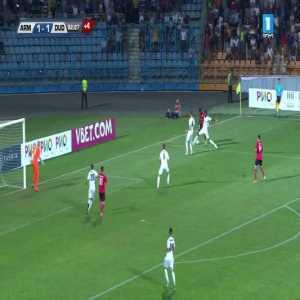 Ararat-Armenia [2] - Dudelange 1 -- Antonov 90+3' (UEFA Europa League Playoffs)