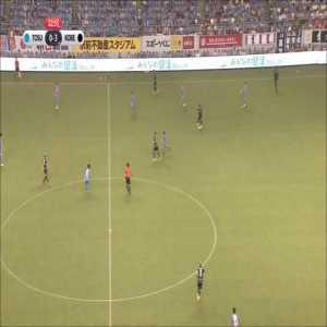 Andres Iniesta (Vissel Kobe) performance vs Sagan Tosu