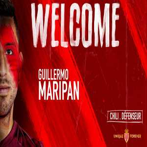 AS Monaco announce the signing of Guillermo Maripan (Alaves) (tweet in french)