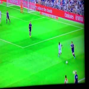 Incredible nutmeg on vinicius, real madrid vs Valladolid