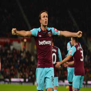 Mark Noble has scored 25 Premier League penalties - only Alan Shearer (56), Frank Lampard (43) and Steven Gerrard (32) have scored more from the spot in the competition